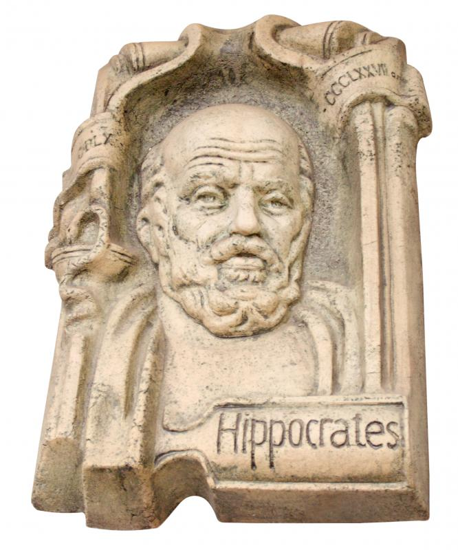 Doctor-patient confidentiality can be traced to Hippocrates.