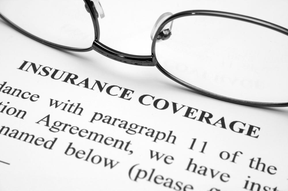A commercial insurance agreement.