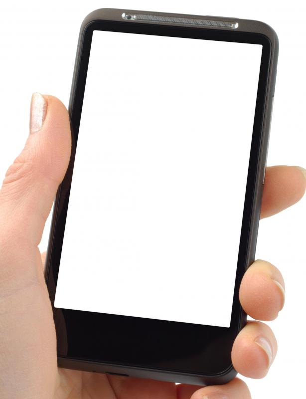 Smartphones allow users to access the Internet.