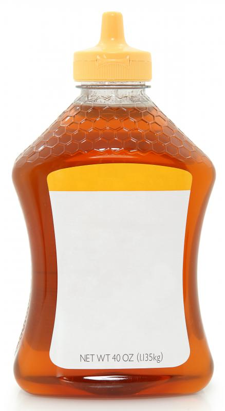 Honey has a viscosity of 2,000 centipoise (cP).