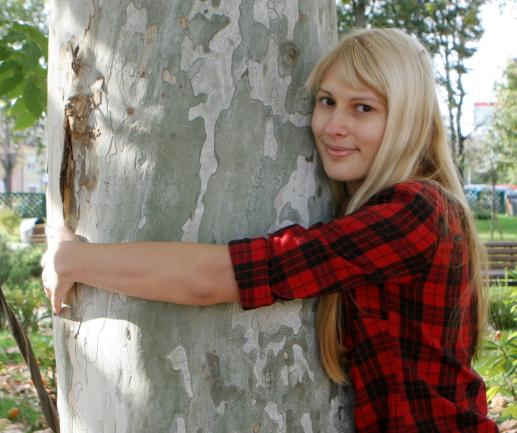 Iceland's Forestry Service is encouraging people to hug trees, rather than one another, during the Covid-19 pandemic.