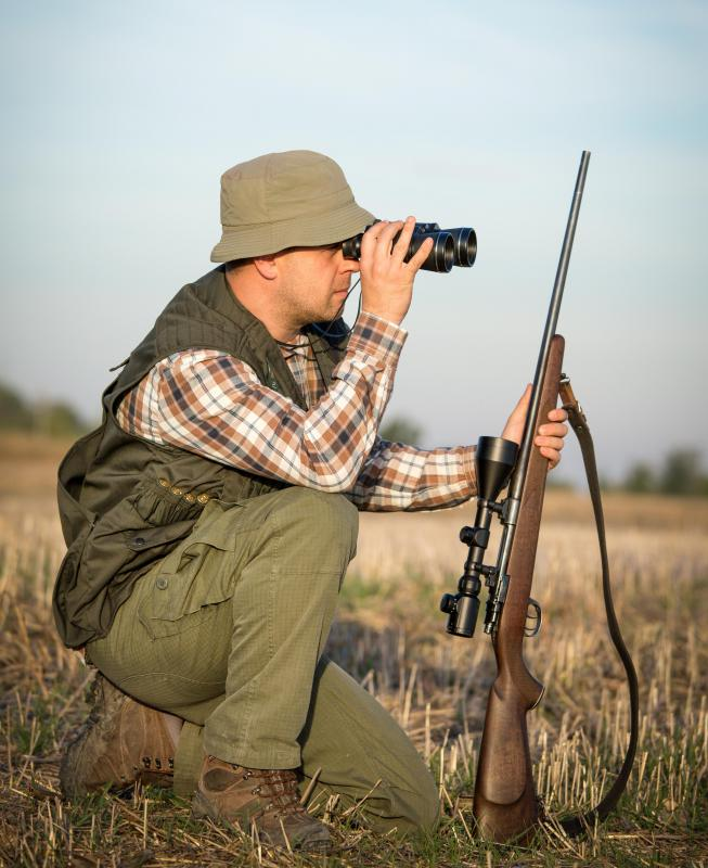 In the U.S., hunters must typically possess a license for the particular animal being hunted.