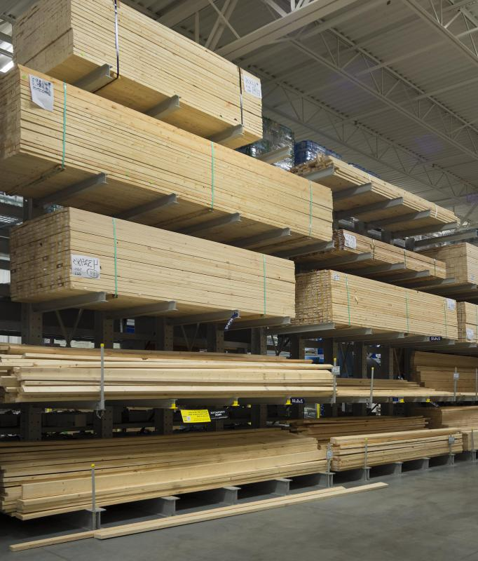People ordering large batches may want to get quotes from several mills or yards, and should inspect the lumber on delivery.