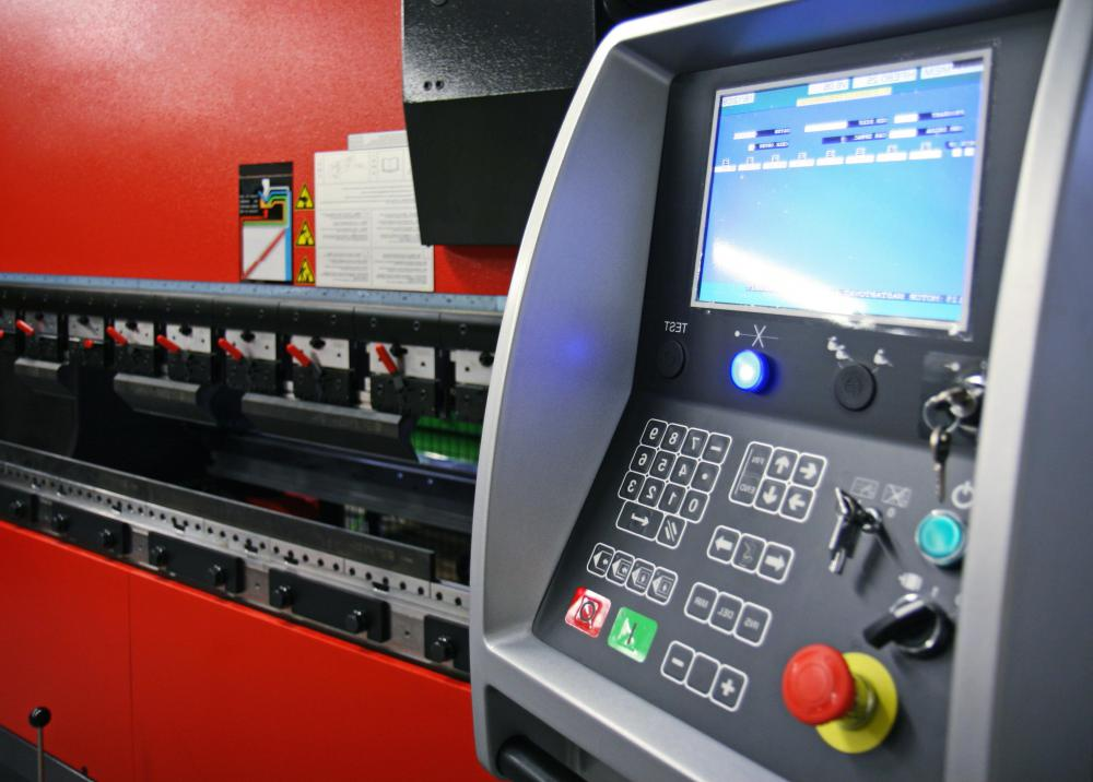CNC machines are driven by computer aided design (CAD) programs which control most, if not all, functions, require minimal operator input.