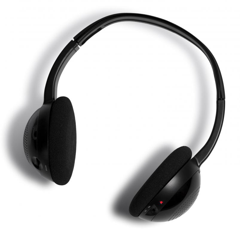 Products that use a wireless transmitter include wireless headphones.