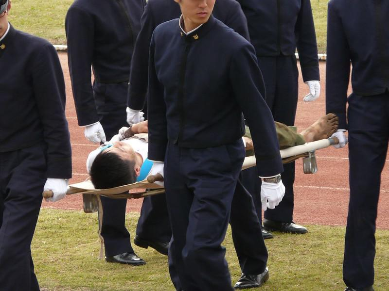 Due to the chaotic, aggressive nature of the game, injuries are commonplace during Bo-Taoshi matches.