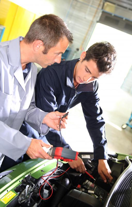 An engine diagnostic may help mechanics determine why an enginge is malfunctioning.