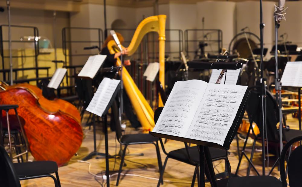 Orchestras usually feature a combination of instruments.