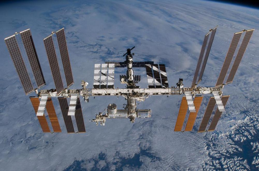 A US astronauts can usually be found on the International Space Station.