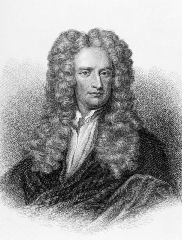 Isaac Newton is considered a scientific genius.