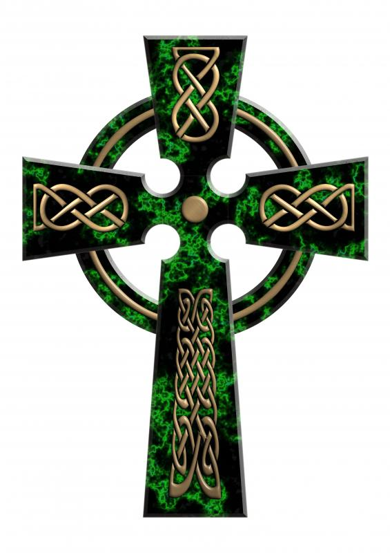 The Celtic cross is a well-known symbol of the Celts.