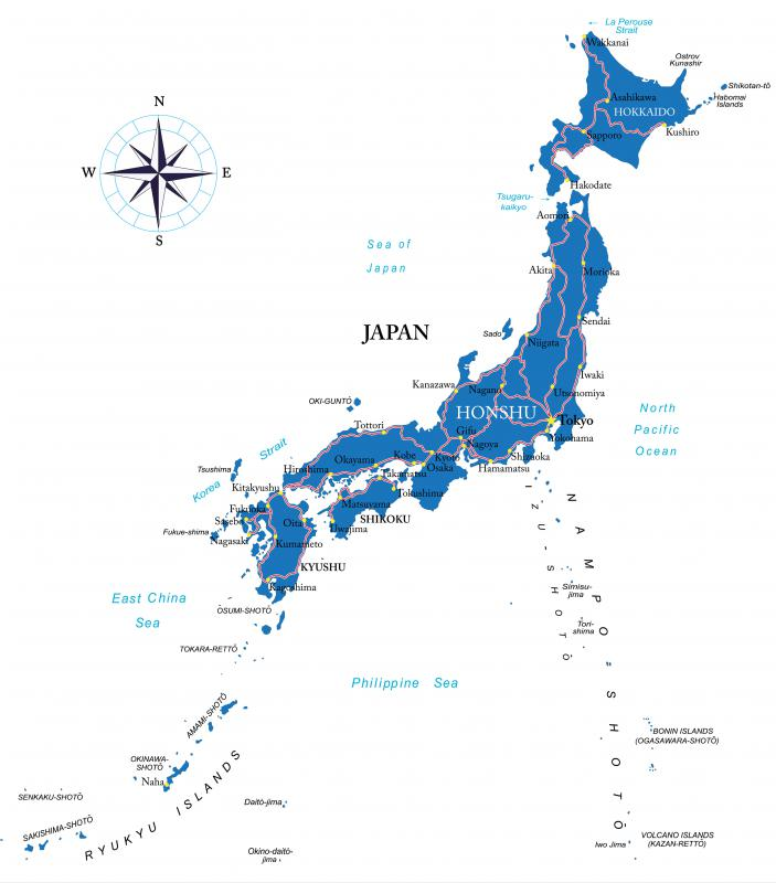 Japan is home to many densely populated cities, such as Osaka, Yokohama, and the megacity of Tokyo.