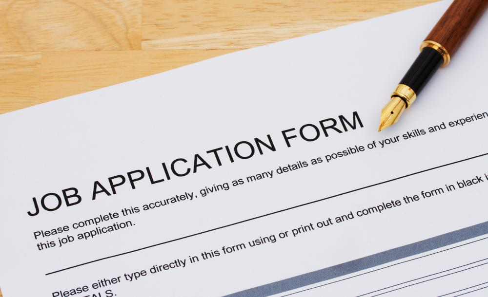 A job application is an opportunity to create a positive first impression with legible, easy-to-understand responses that succinctly highlight the applicant's accomplishments.