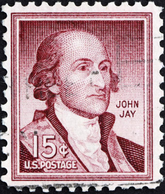 John Jay was one American who was at the Treaty of Paris.
