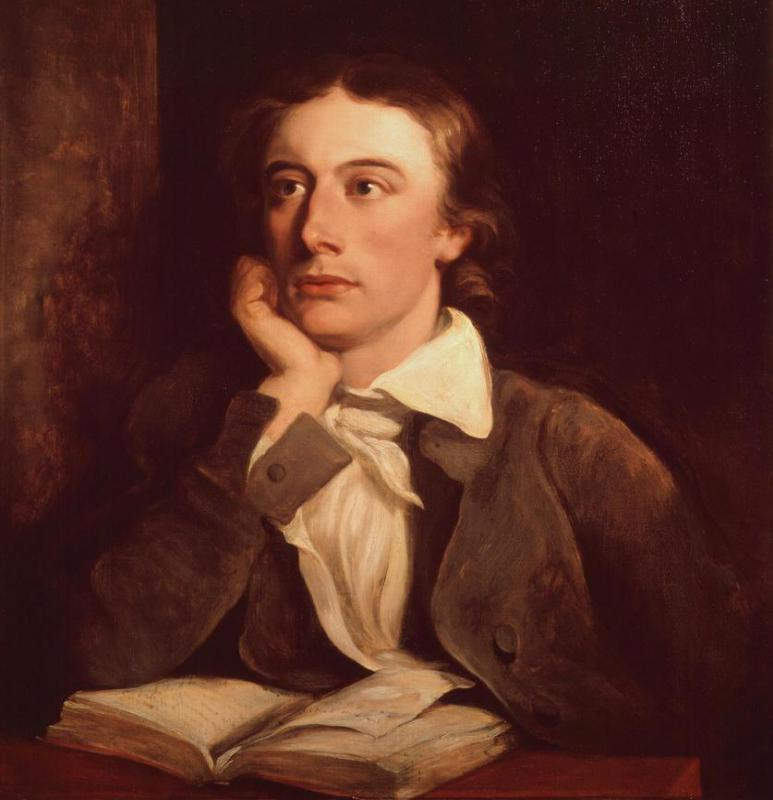 "Romantics were more likely to indulge in effusive emotional statements, as John Keats did in ""Ode on a Grecian Urn"": ""More love! More happy, happy love!"""