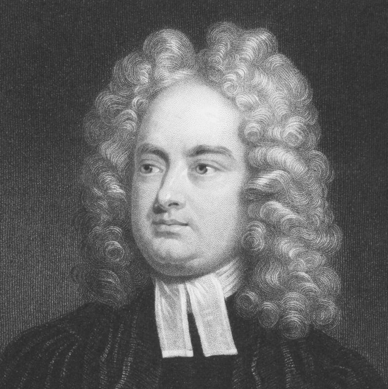 "Jonathan Swift's ""A Modest Proposal"" employs post-irony that might be hard to discern among the satire."