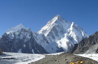 K2 - the world's second tallest mountain.