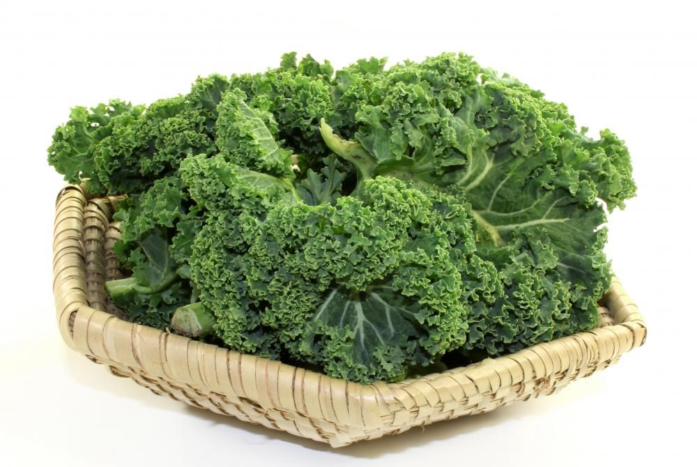 Skin might become discolored when too much lutein, from sources such as kale, is ingested.