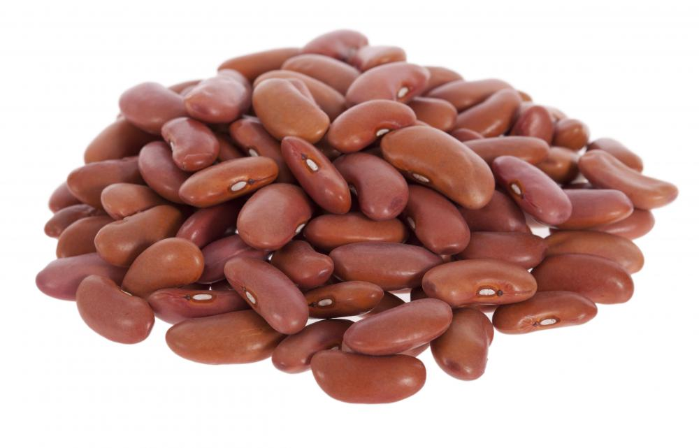 Kidney beans are a good source of methionine.