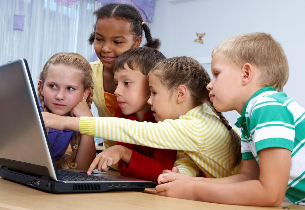 Many educational games for children can be found on the internet.