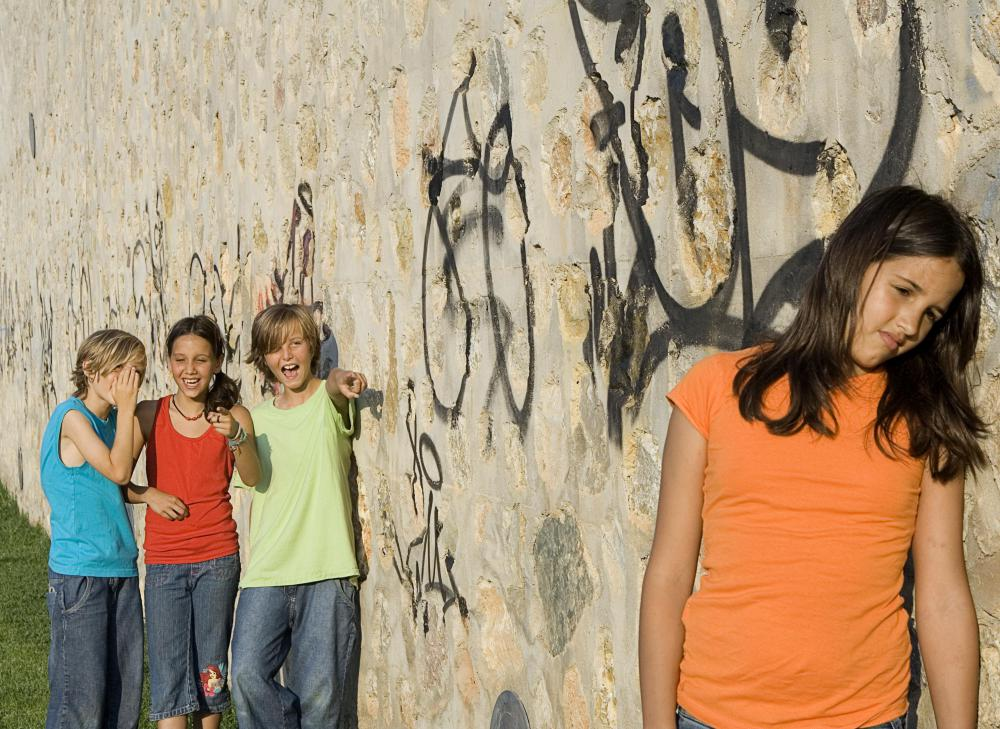 Bullying victims often suffer from low self-esteem.