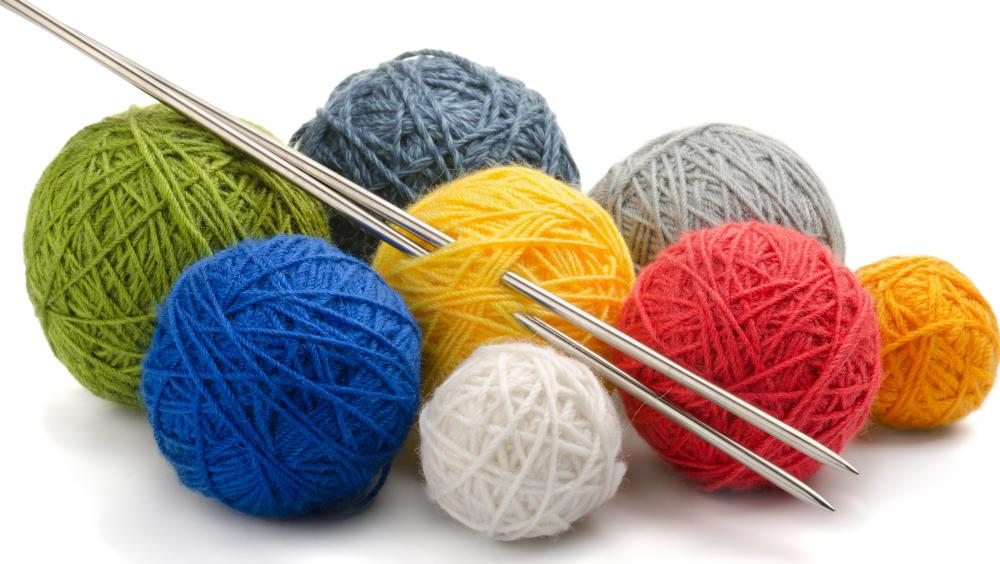 Knitting during the winter might help with cabin fever.