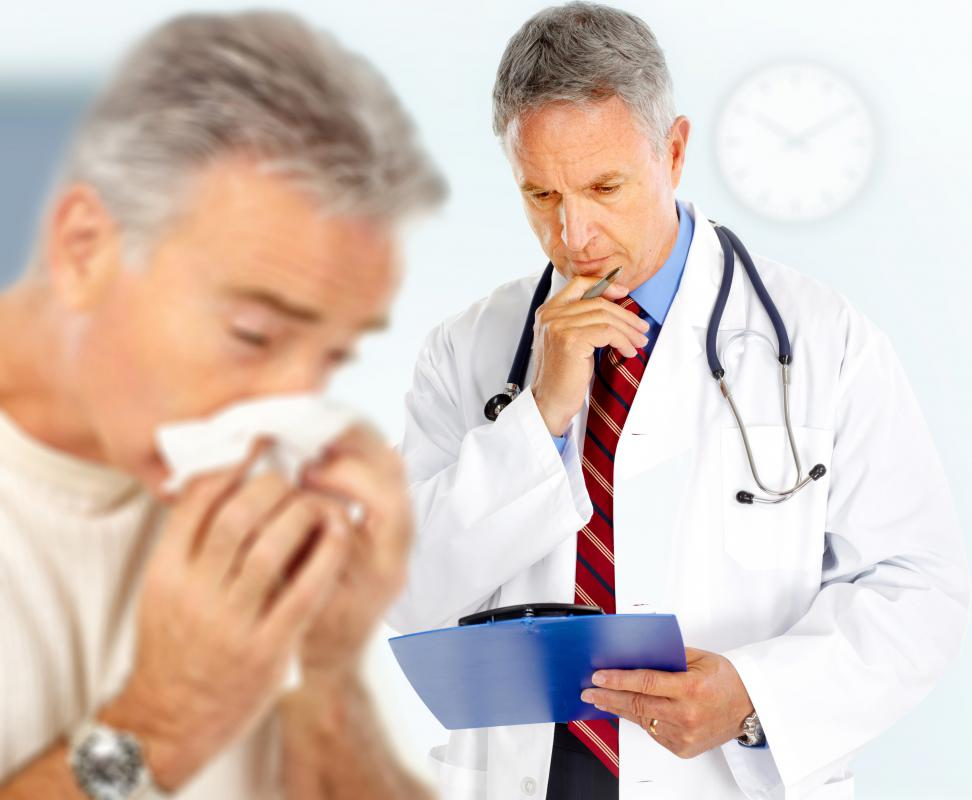 A medical doctor who specializes in the diagnosis and treatment of allergies is known as an allergist.