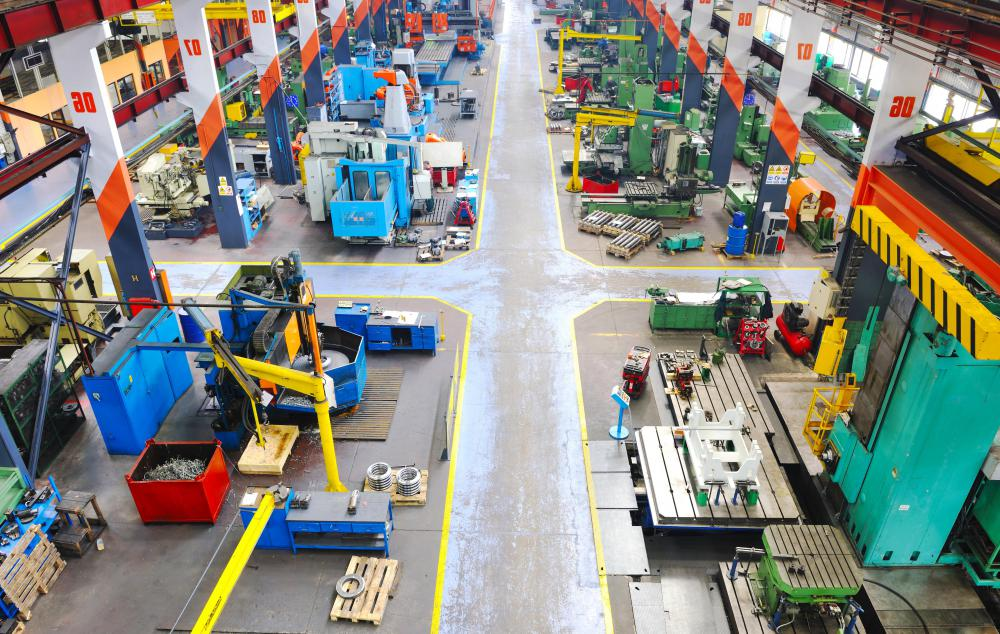 Manufacturing operations combine a number of individual processes to produce goods that are then sold to consumers.