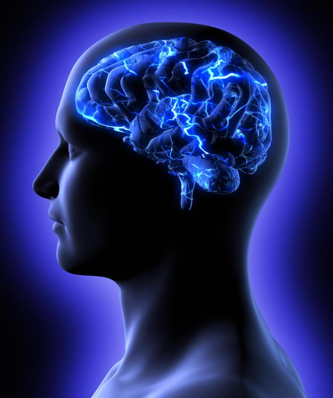 A cerebral edema occurs when there is excess fluid in the brain.