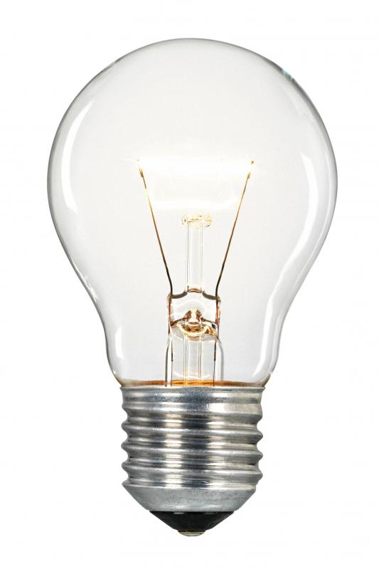 The incandescent light bulb was invented by Thomas Edison.