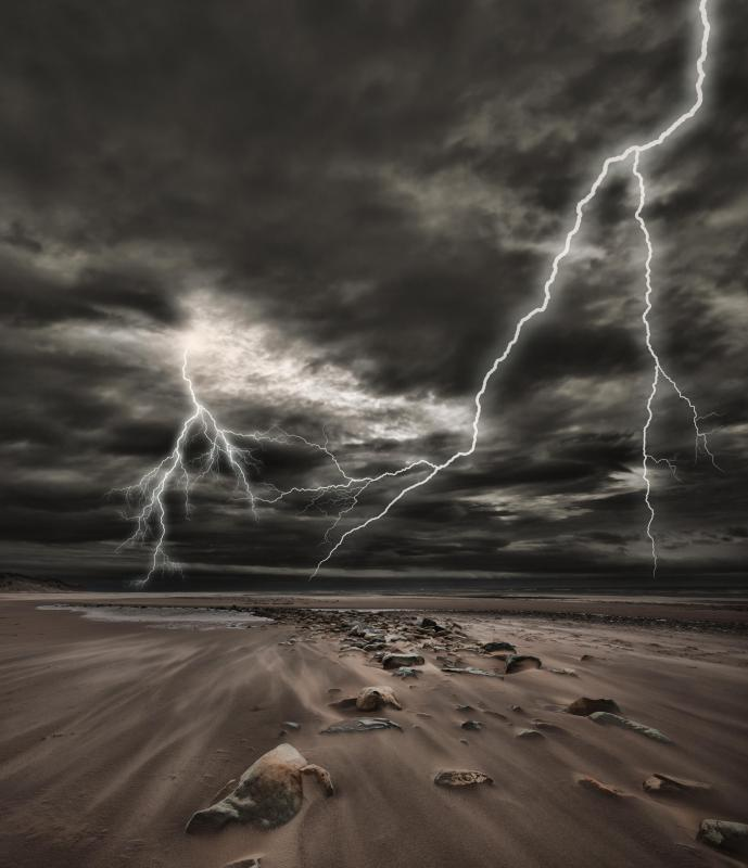 Lightning may have triggered the formation of amino acids from the inorganic compounds in the Earth's environment, which then generated primordial soup and gave rise to life.