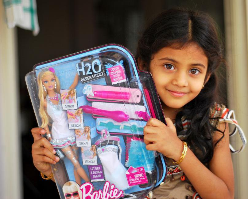 Critics believe Barbie dolls can enforce harmful ideas about body image on impressionable young girls.