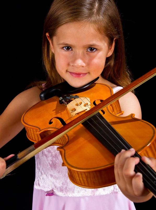 Left-hand children's violins must be custom-made.