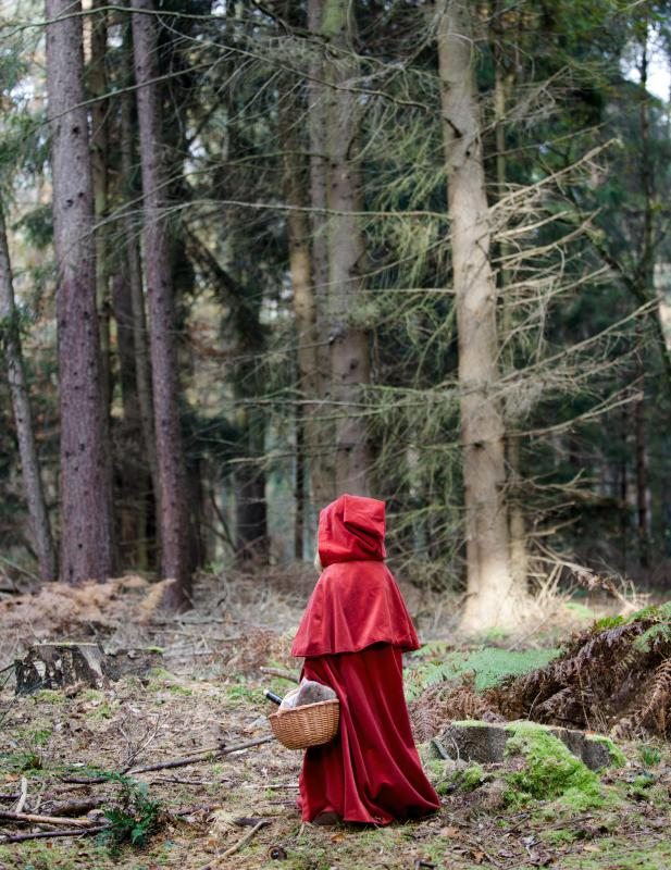 """Little Red Riding Hood"" is an example of fiction."