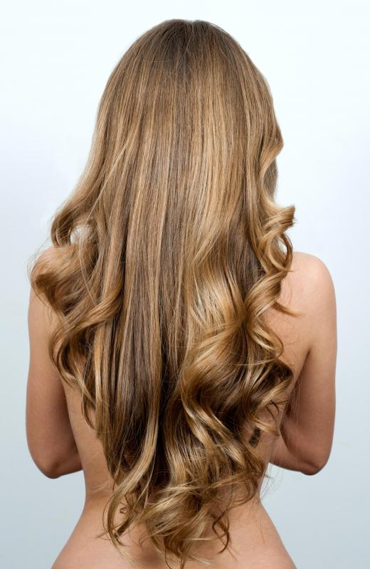 Protein is a food supplement that can promote healthy hair growth.