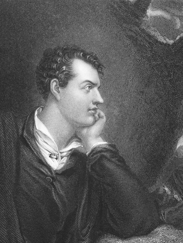 Lord Byron was one of the biggest figures in the Romantic movement.
