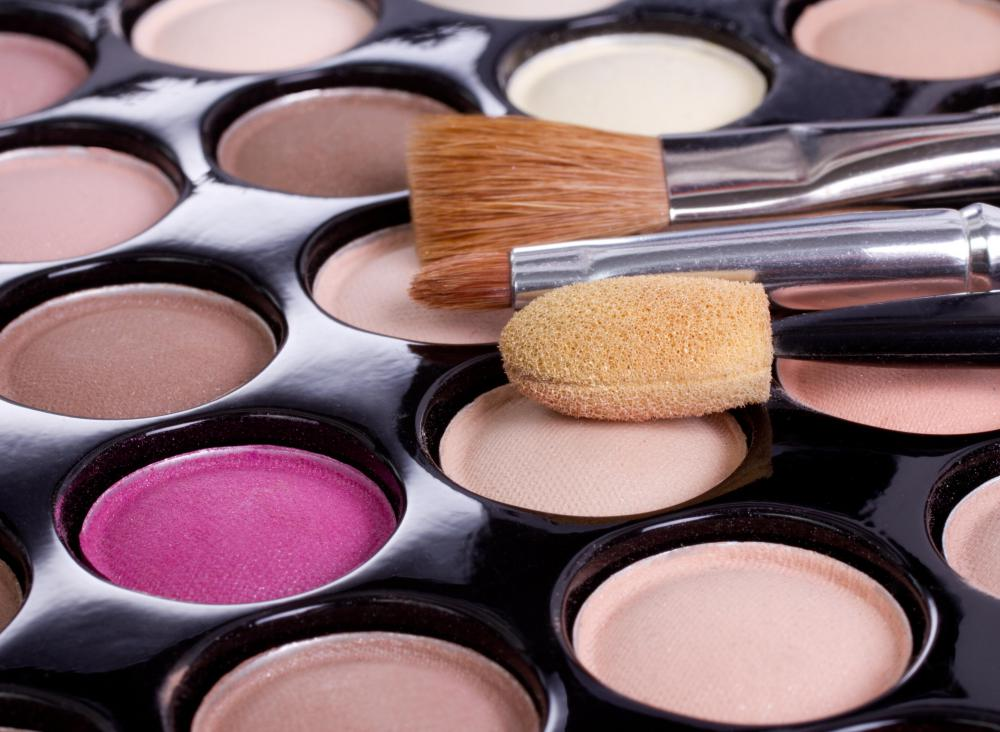 Many eye shadows contain tocopherol.
