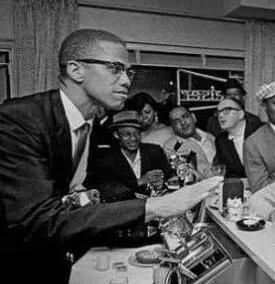 Malcolm X condoned self-defense.
