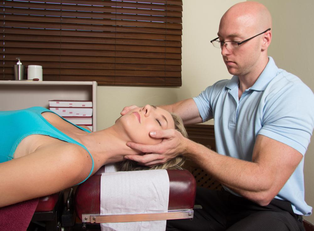 A stiff neck and dizziness may occur as a result of an uncomfortable chiropractic adjustment.