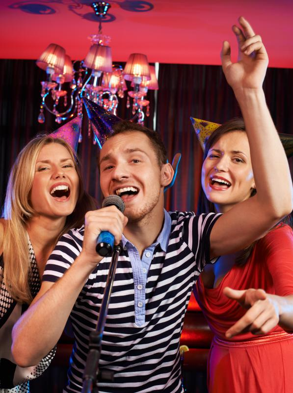 The hospitality industry includes providing entertainment for guests at a hotel or on a cruise.
