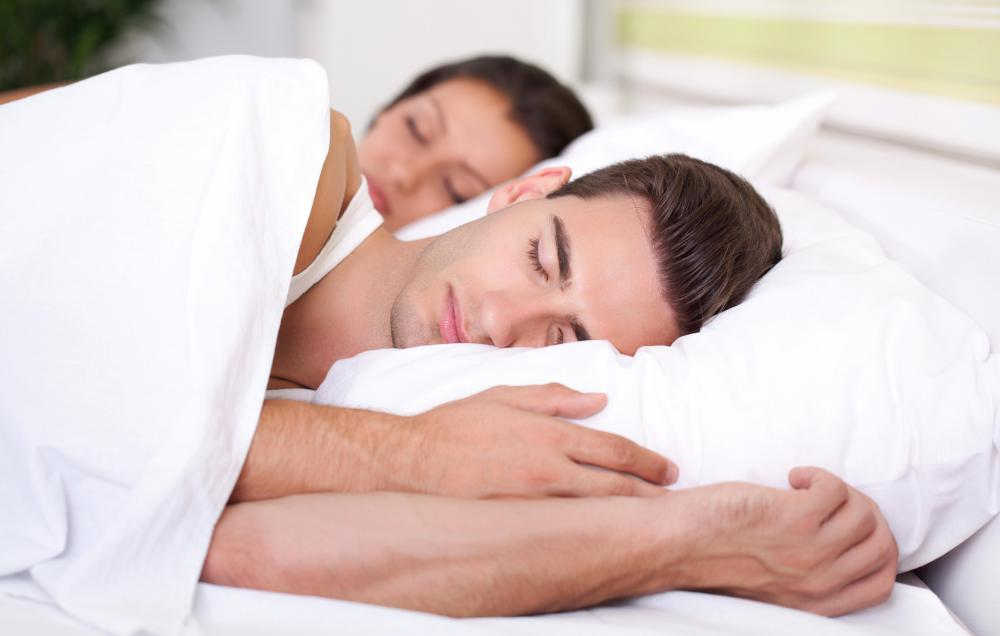 Adults who wet the bed while they sleep may have a medical problem.