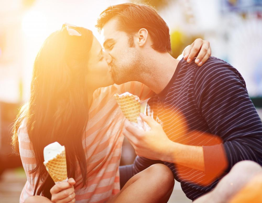 Couples with a healthy sexuality are typically more affectionate.