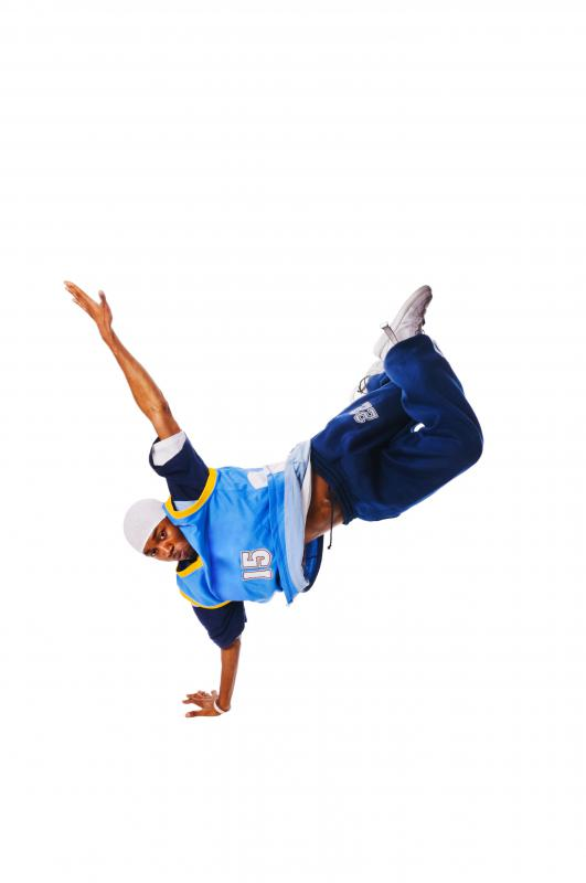 Breakdancing originated from hip-hop.