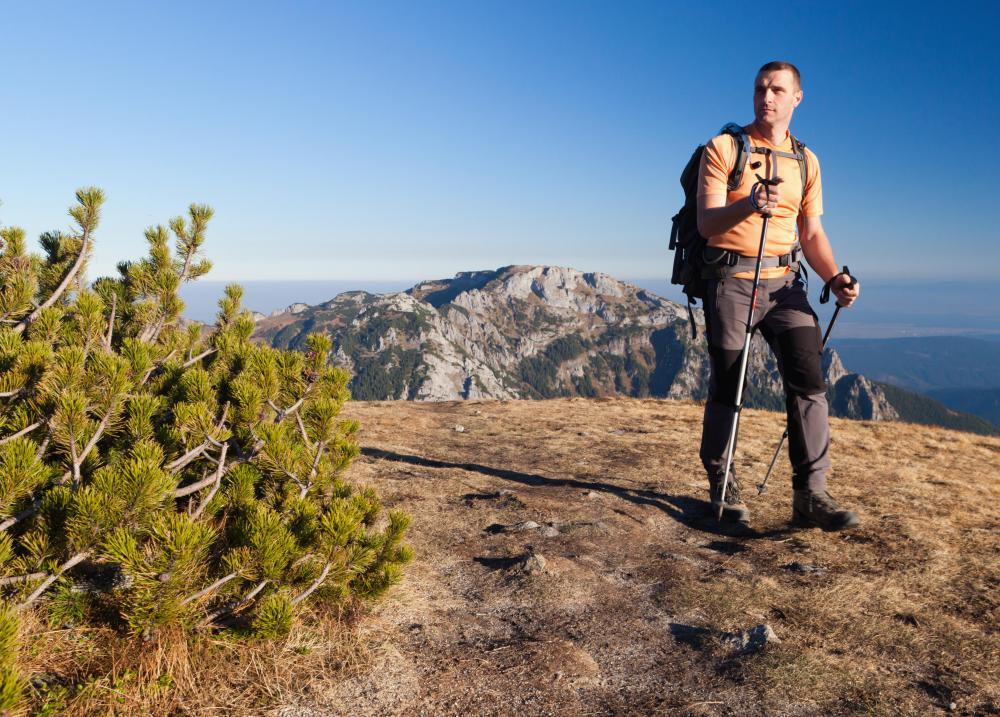 Hiker's backpacks typically have two-way zippers.