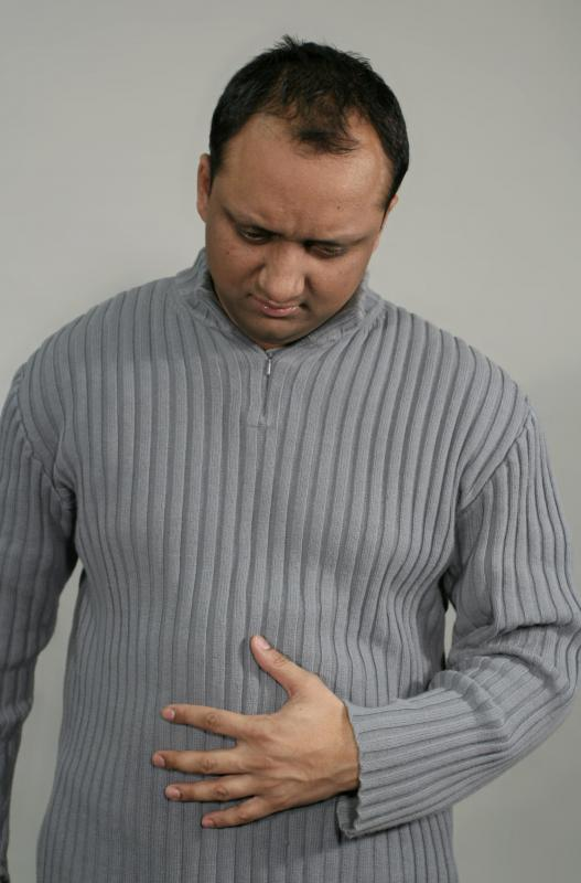 Abdominal discomfort may be a sign of a fatty liver.