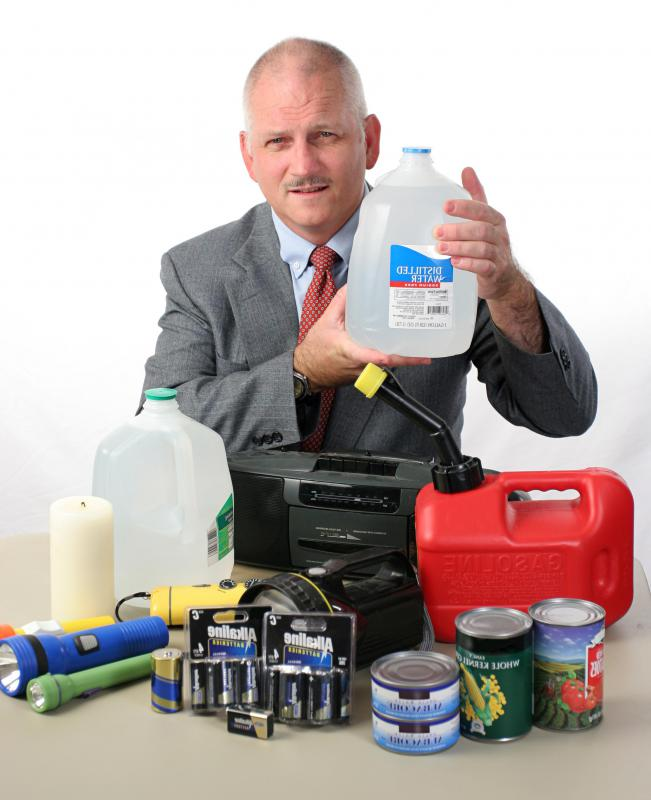 Hurricane preparation leads to rapidly increased demand for storm supplies thereby causing scarcity of items.