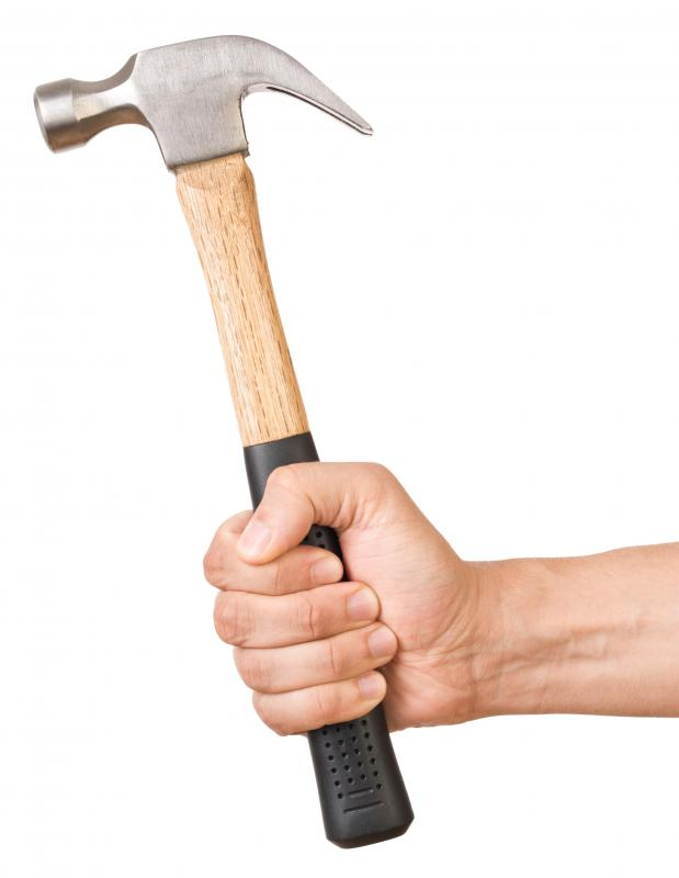 W-grade tool steel is used to make hammers.