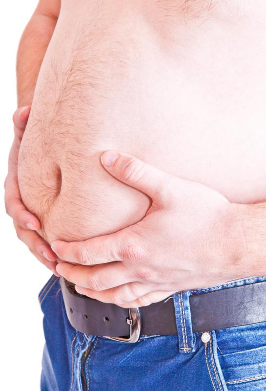Symptoms of IBS may include abdominal pain.