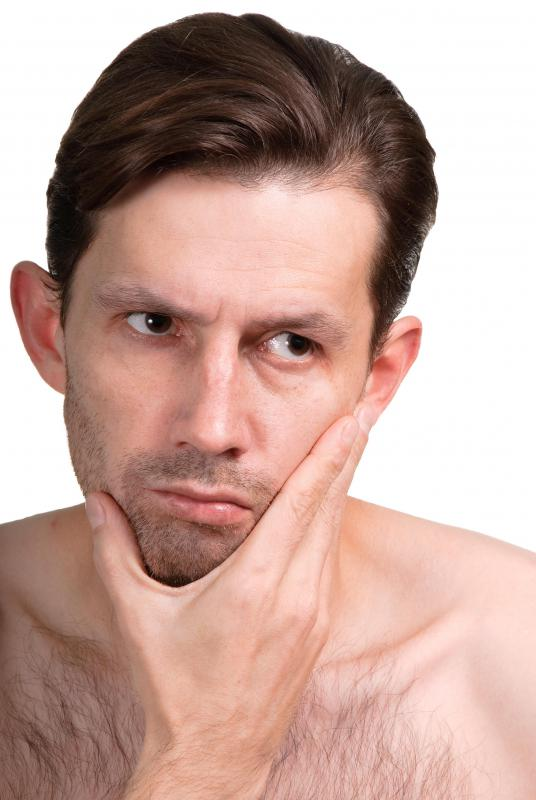 Facial tingling may be caused by dental issues.