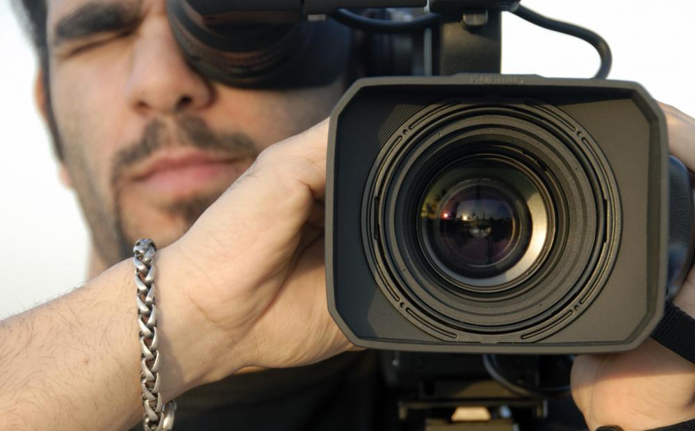 Camera operators are an integral part of the film industry.